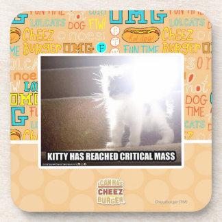 Critical Mass Kitty Coaster