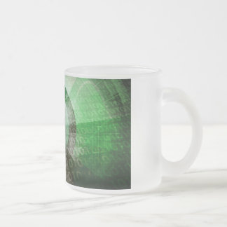 Critical Technology Skills and Important Industry Frosted Glass Coffee Mug