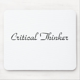 Critical Thinker Mouse Pad