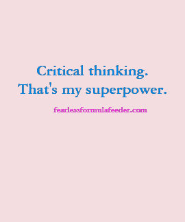 Critical thinking - That's my superpower t-shirt