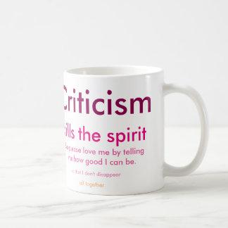 Criticism Coffee Mug