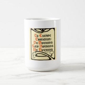 Criticism Mug