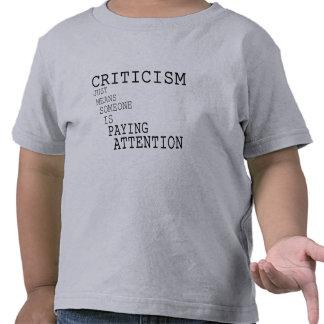 Criticism T-shirt