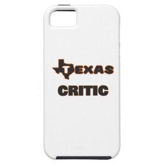 Crítico de Tejas iPhone 5 Carcasa