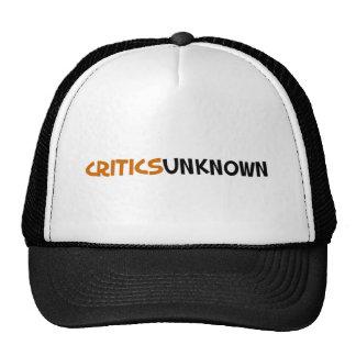 Critics Unknown Merchendise Trucker Hat