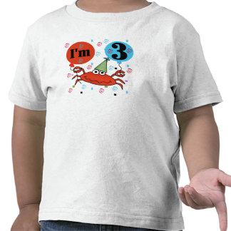Critique despiadadamente el 3ro cumpleaños camiseta