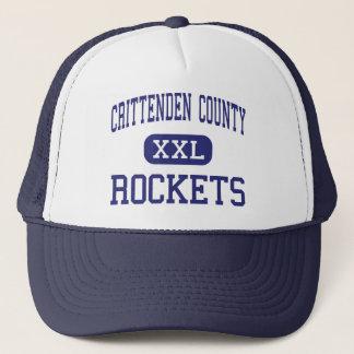 Crittenden County - Rockets - High - Marion Trucker Hat