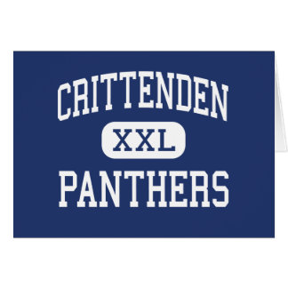 Crittenden Panthers Middle Mountain View Card