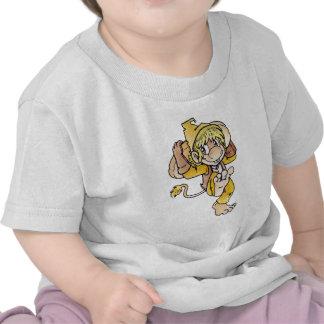 Critter amarillo camisetas