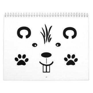 Critter Calendario De Pared