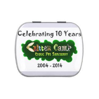 Critter Camp 10 year Anniversary Tin Candy Tin