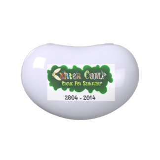 Critter Camp 10th Anniversary Tin 2 Jelly Belly Candy Tin