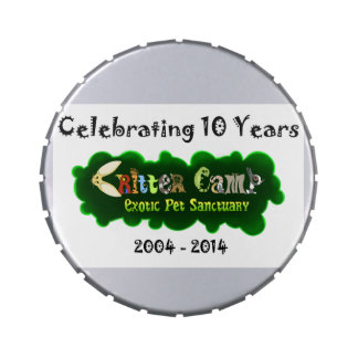 Critter Camp 10th Anniversary Tin 4 Jelly Belly Tin