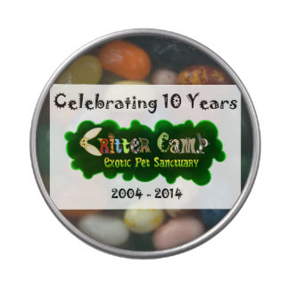 Critter Camp 10th Anniversary Tin 5 Jelly Belly Tin