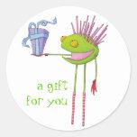 Critter Cedric Sticker