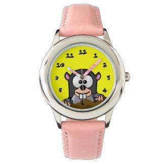 Critter del dibujo animado relojes de mano