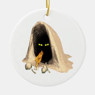 Critter espeluznante adornos de navidad