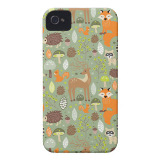 Critter Forest iPhone 4 Case-Mate Case