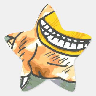 Critter Pegatina En Forma De Estrella