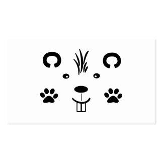 Critter Plantilla De Tarjeta Personal