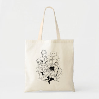 Critter Power Tote Bag
