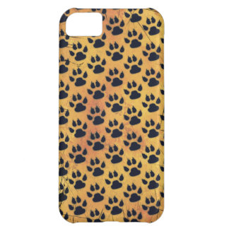 CRITTER TRACKS CASE FOR iPhone 5C