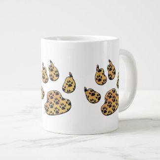 CRITTER TRACKS LARGE COFFEE MUG