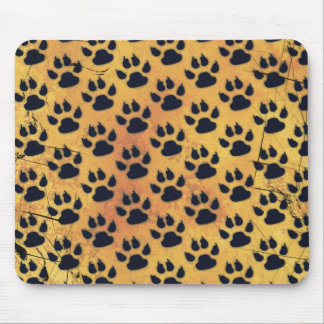 CRITTER TRACKS MOUSE PAD