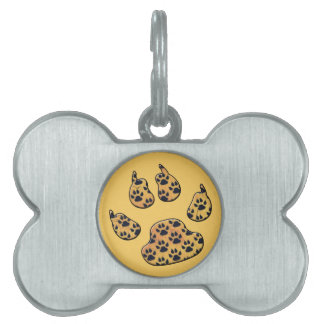 CRITTER TRACKS PET ID TAG