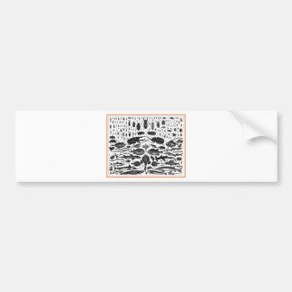 Critters Bumper Sticker