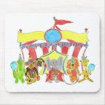 Critters de la tienda de circo tapete de ratones