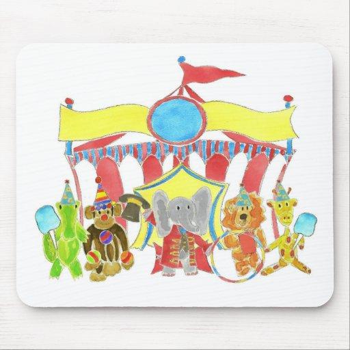 Critters de la tienda de circo tapetes de ratones
