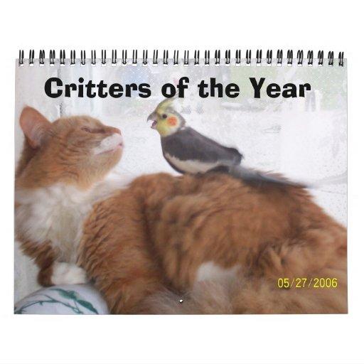 Critters del año calendario