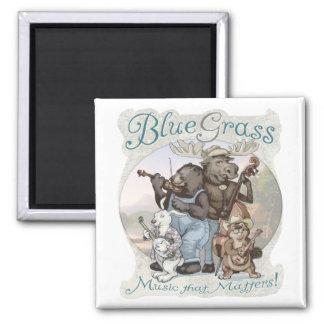 Critters del Bluegrass por los estudios de Mudge Imán Cuadrado