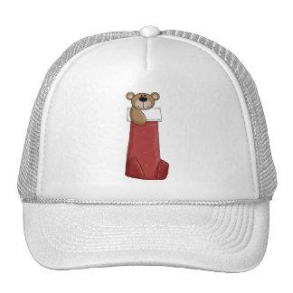 Critters del navidad · Oso y media de peluche Gorras