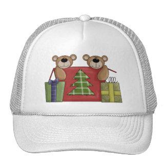 Critters del navidad · Osos y regalos de peluche Gorro De Camionero