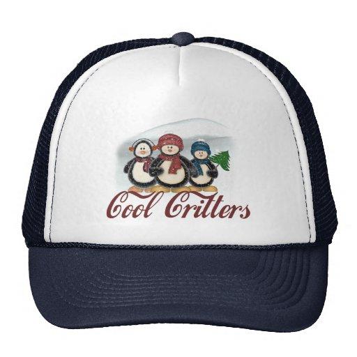 Critters frescos gorras de camionero