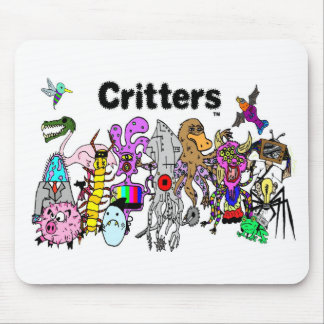 Critters group mousepad