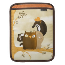 Critters in a Tree Sleeve For iPads