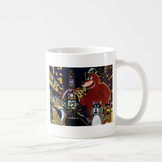 Critters in Times Square Coffee Mug
