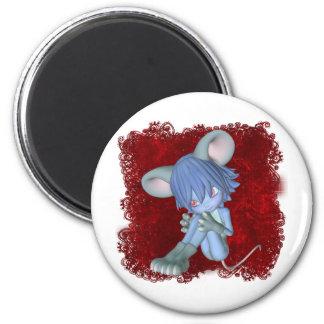 Critters lindos 09 imán redondo 5 cm