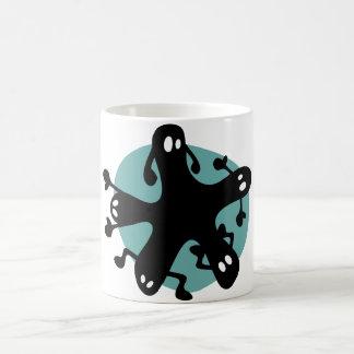 Critters lindos en una taza - turquesa