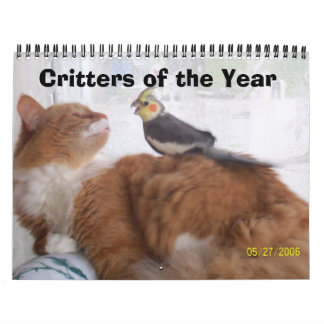 Critters of the Year Calendar