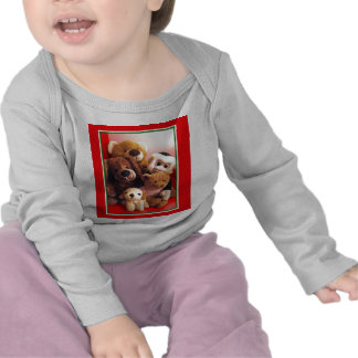 Critters para el bebé camiseta