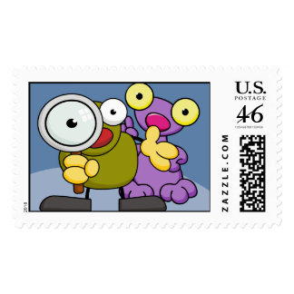Critters Postage Stamp