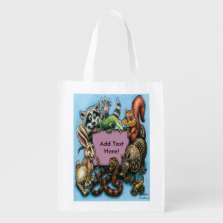 Critters Reusable Grocery Bag
