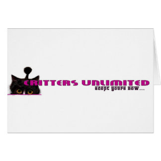 critters unlimited card