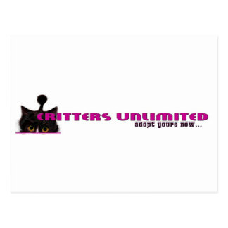 critters unlimited postcard