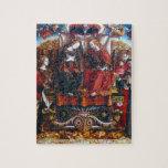 Crivelli: Coronación de Maria, Rompecabezas
