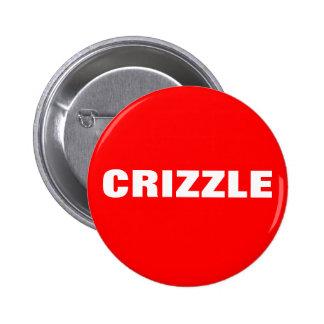 Crizzle 2 Inch Round Button